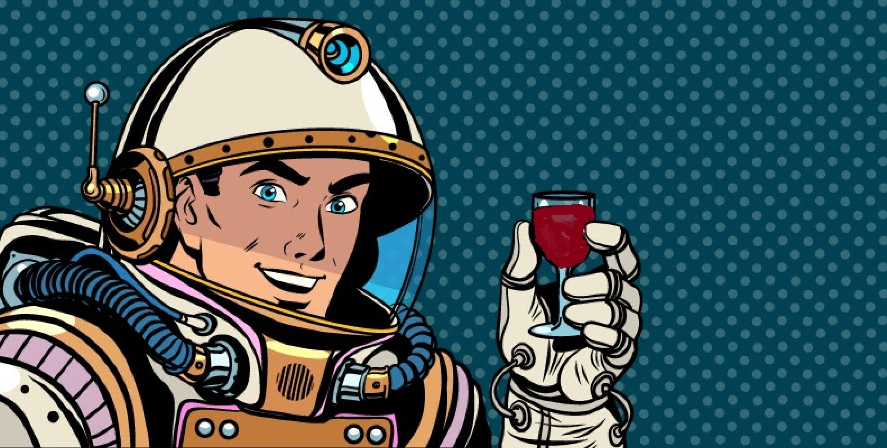 Вино годичной выдержки в космосе. На Землю возвращаются 12 бутылок французского бордо