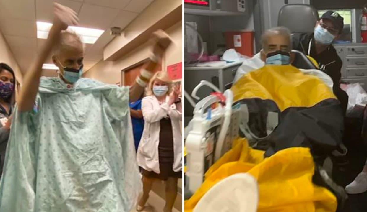 Британец выздоровел от коронавируса, проведя 243 дня в больнице