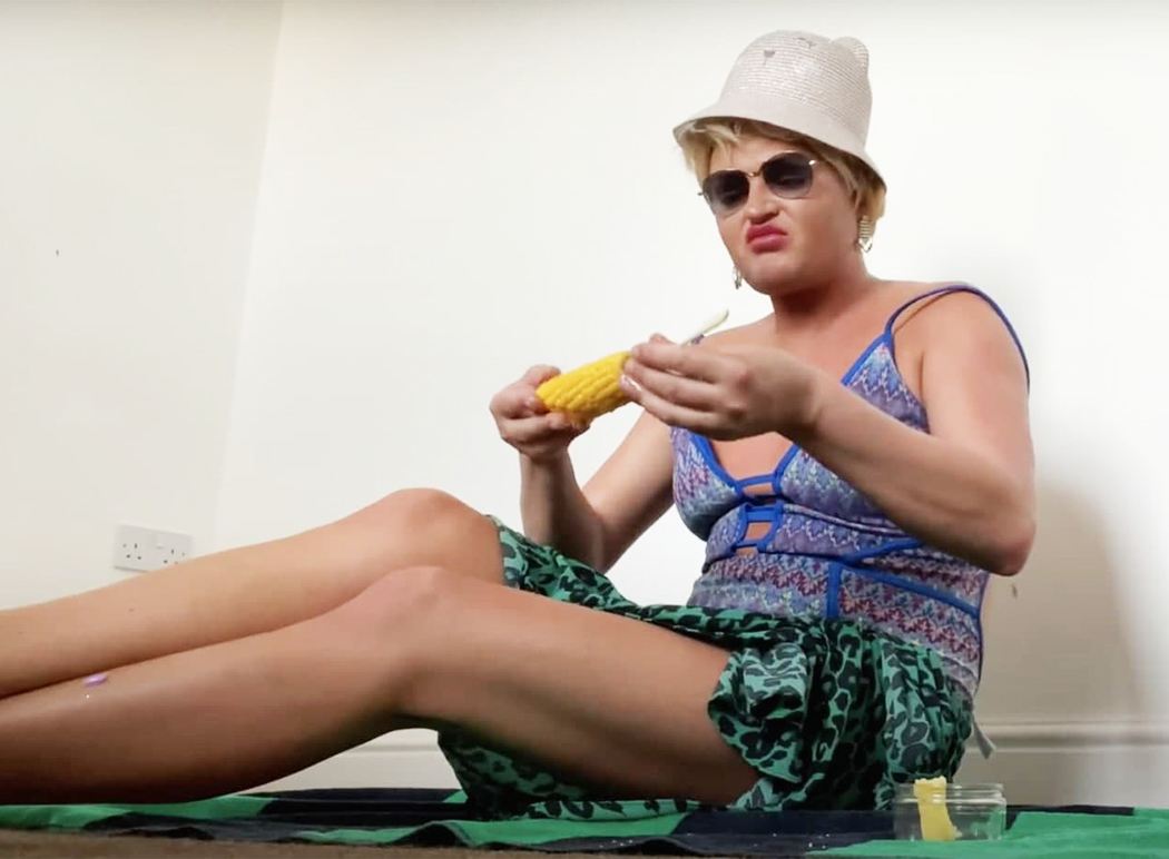 Шура Стоун на пляже в Сочи.
