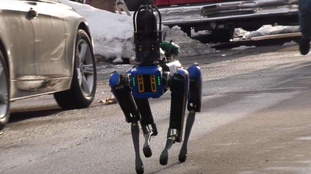 Полиция Нью-Йорка начала использовать робопса от Boston Dynamics