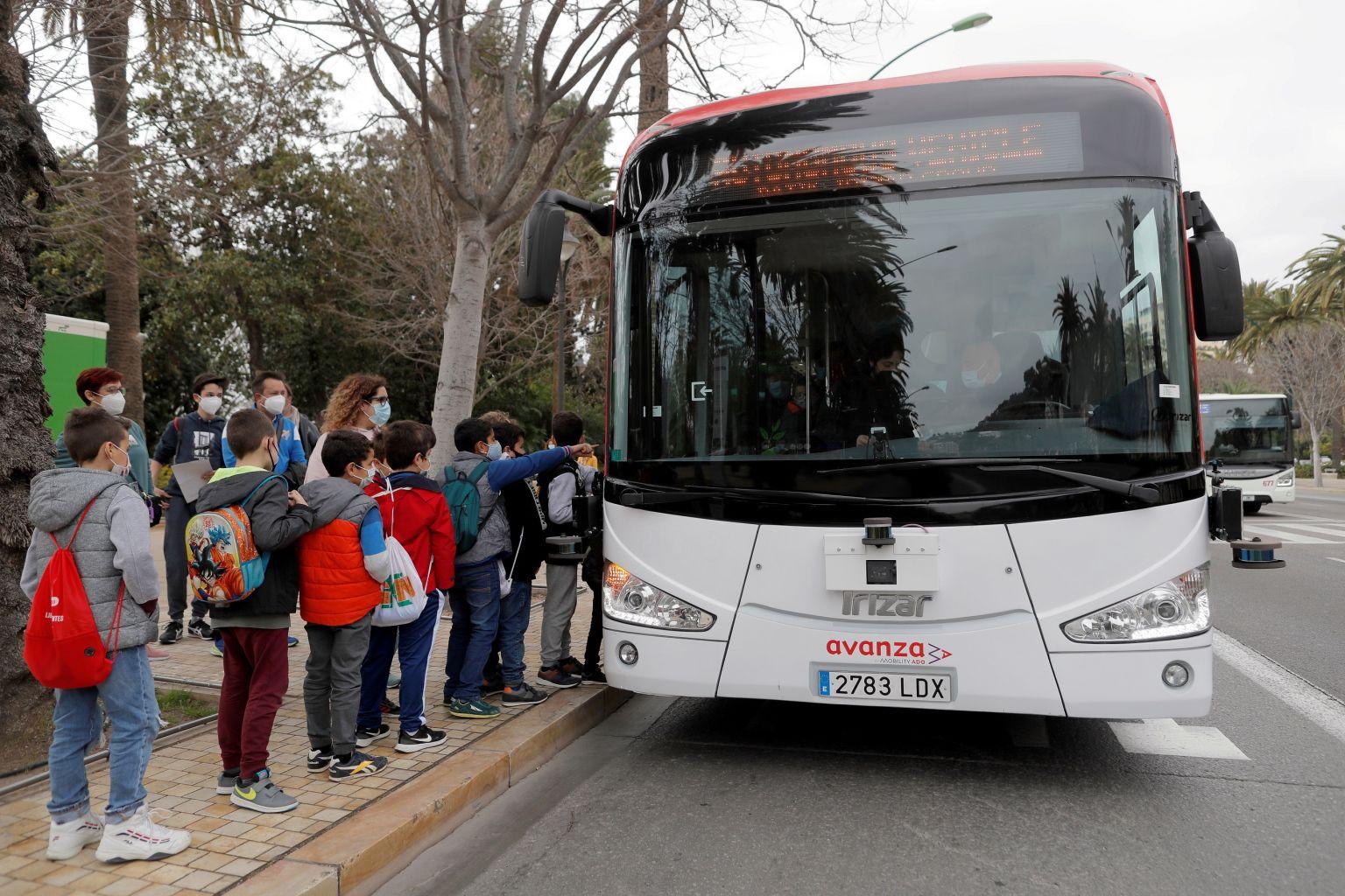 В Испании появился первый беспилотный общественный транспорт