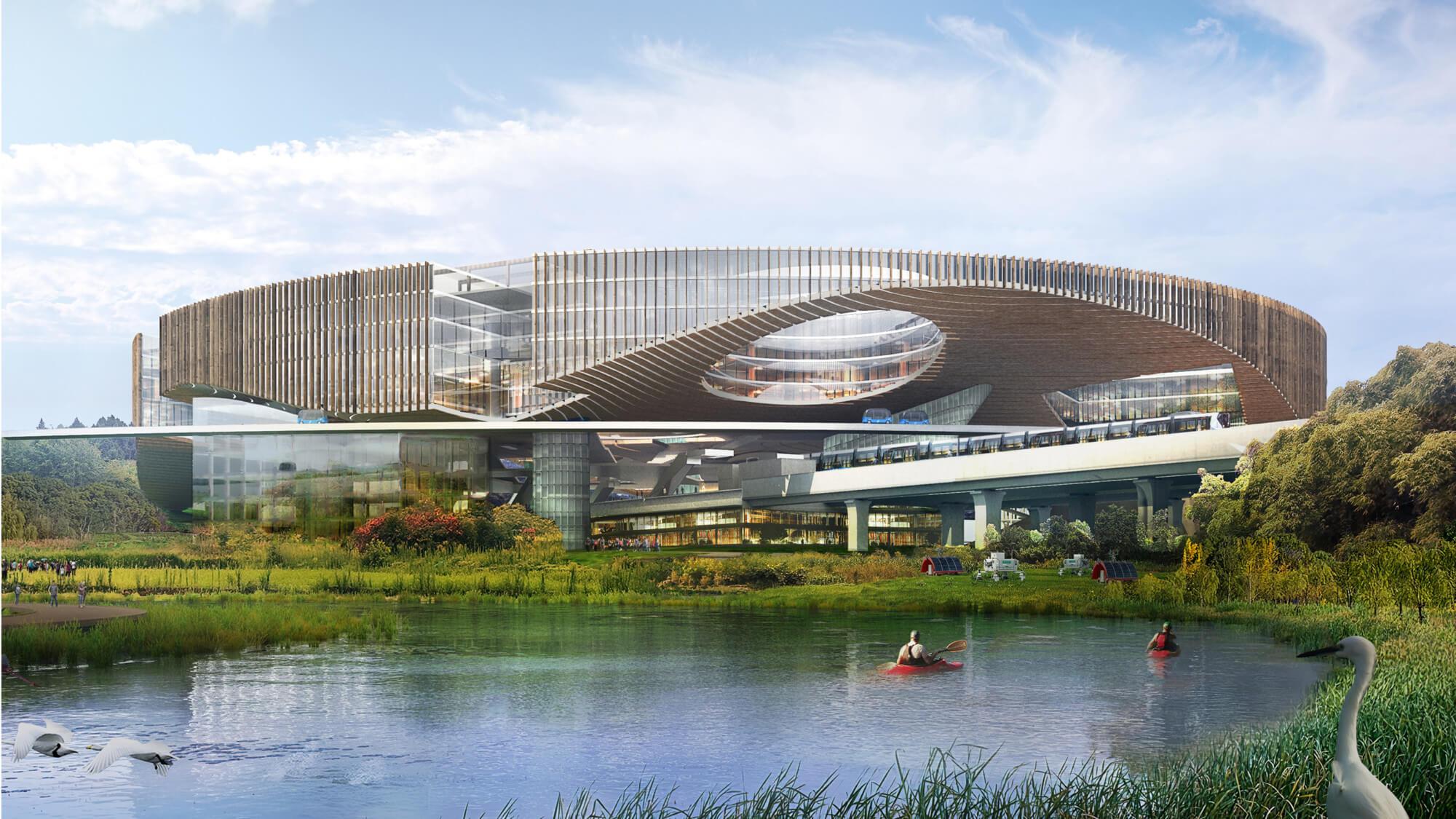 Китай построит город будущего посреди сельской местности. Как он выглядит