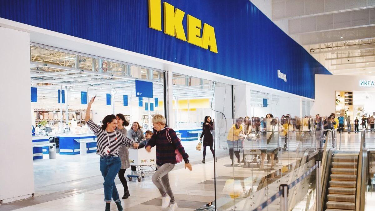 IKEA открыла первый магазин в Украине
