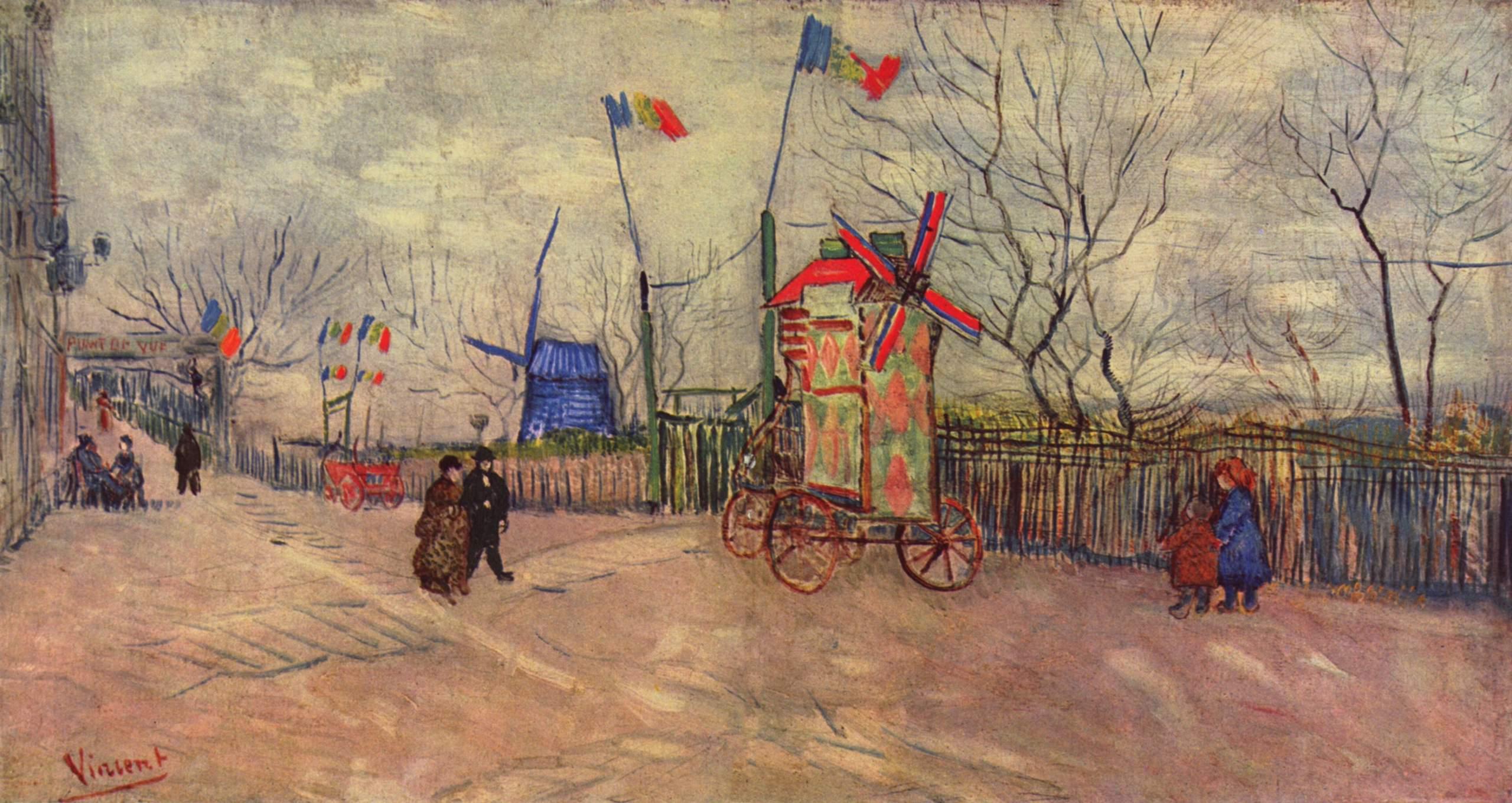 В Париже впервые выставили картину Ван Гога, которую почти никто не видел
