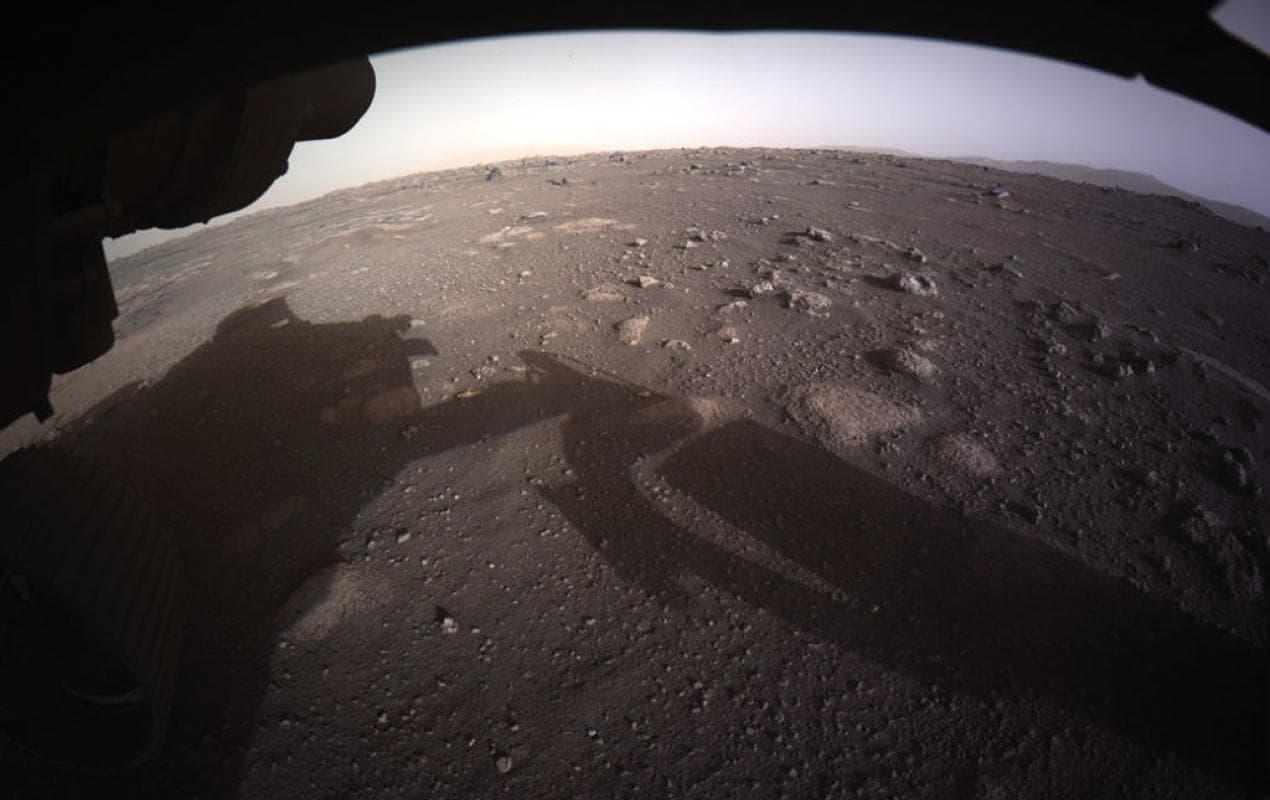 NASA впервые опубликовало звуки с поверхности Марса