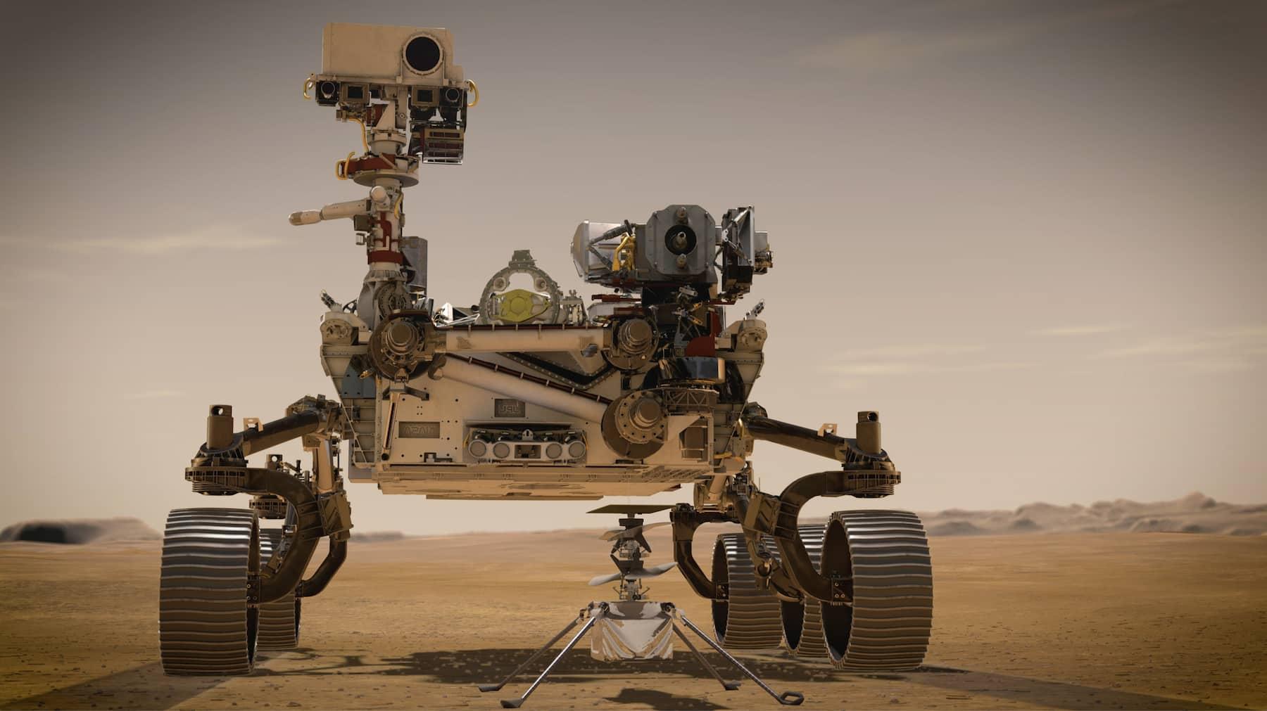 Марсоход Perseverance успешно достиг поверхности Марса