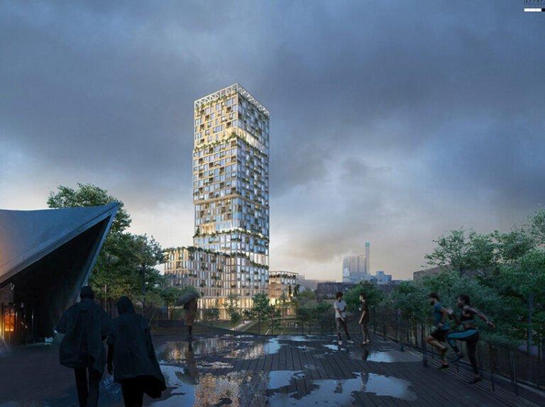 В Берлине появится самый высокий в Европе деревянный небоскреб