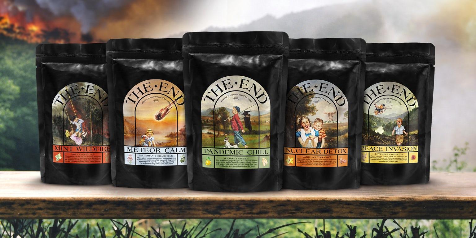 В Испании выпустили свой вкус чая для каждого сценария Апокалипсиса