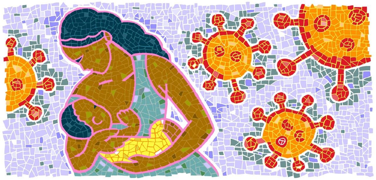Антитела к коронавирусу передаются от матери к ребенку через грудное молоко. Исследование