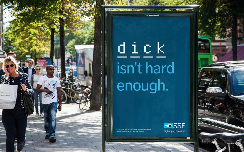 «Ваш пароль — дерьмо». В Швеции появилась провокационная социальная реклама