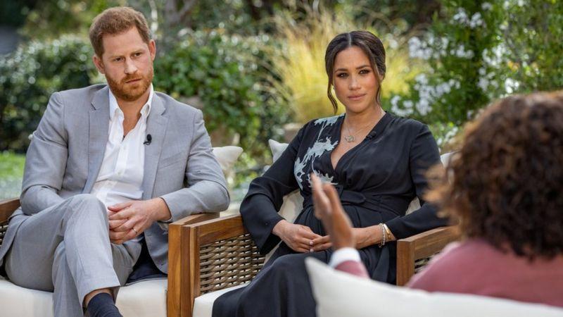 Меган и Гарри на шоу Опры.Фото — Reuters