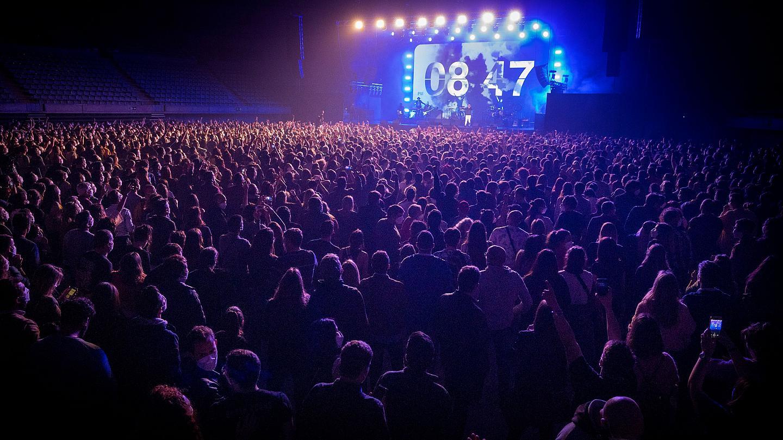 В Испании прошел концерт на пять тысяч человек. Это самое массовое мероприятие в Европе с начала пандемии