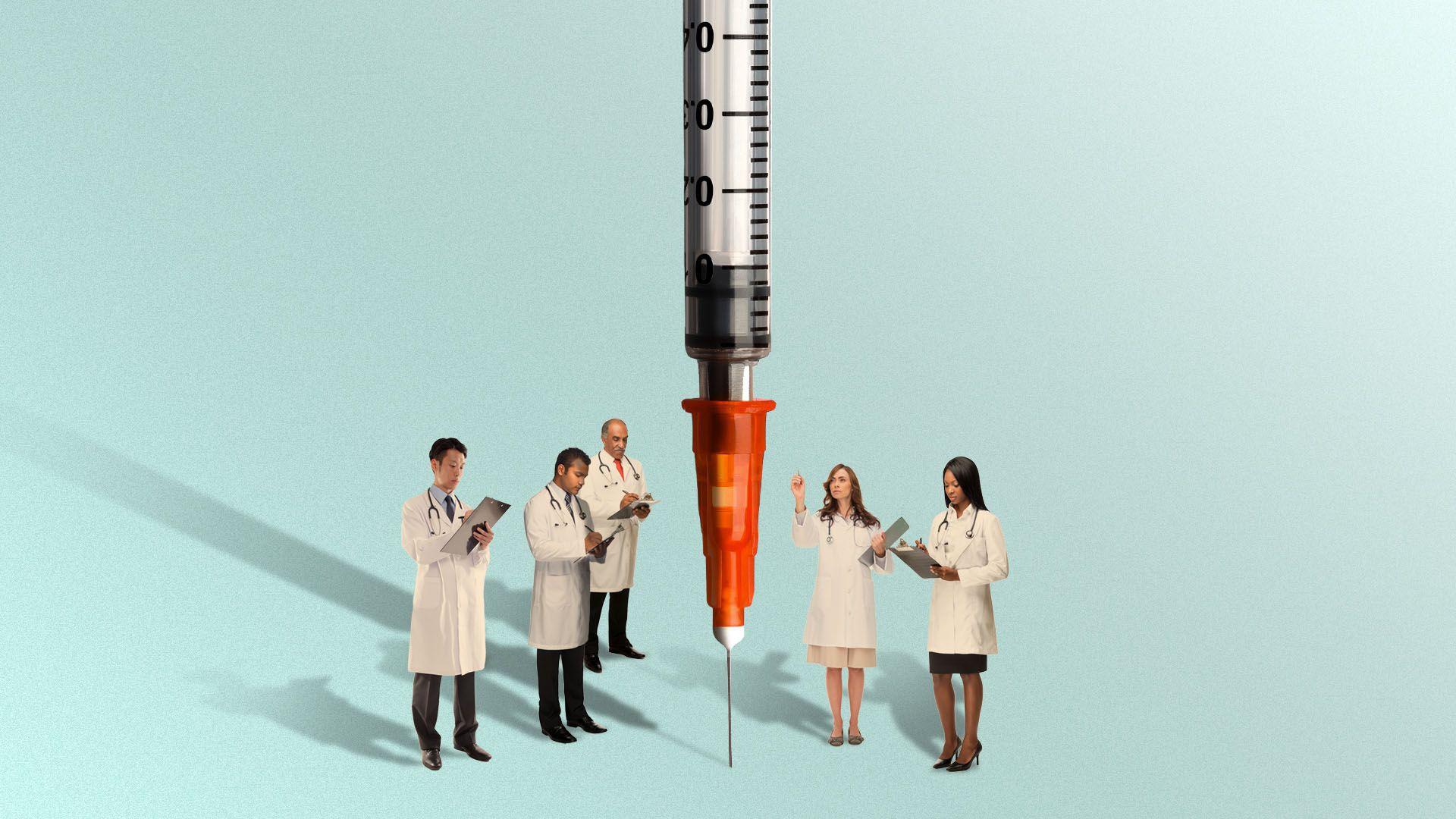 Украина вакцинировала 200 тысяч человек