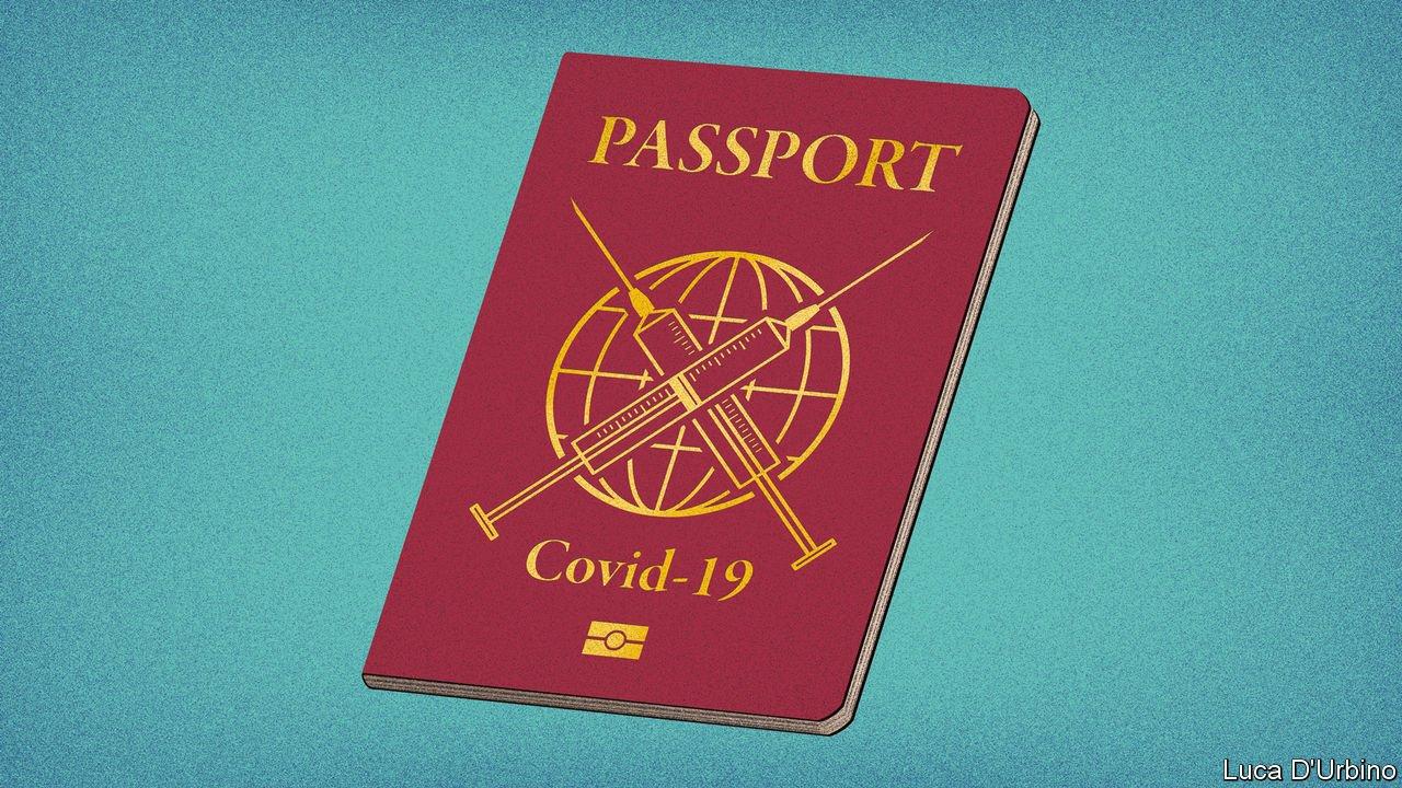 Еврокомиссия представила проект вакцинного сертификата для путешествий по странам ЕС