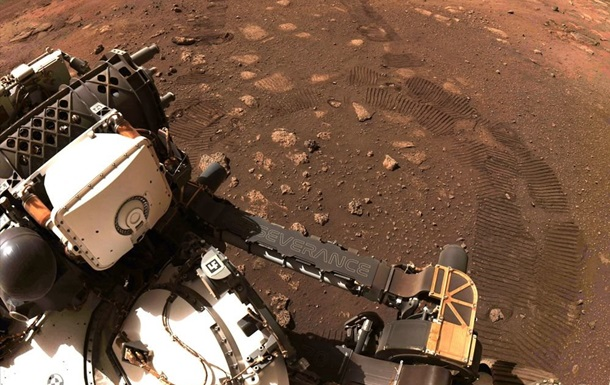 Perseverance впервые проехал по поверхности Марса. Он преодолеет 15 километров за два года