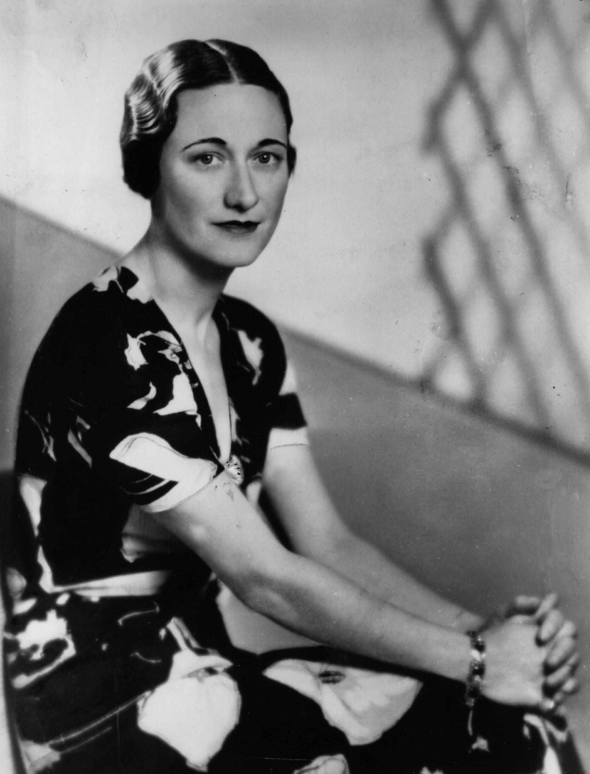 Выбранный Меган образ напомнил об одной из самых известных фотографий Уоллис, сделанной в 1936 году.