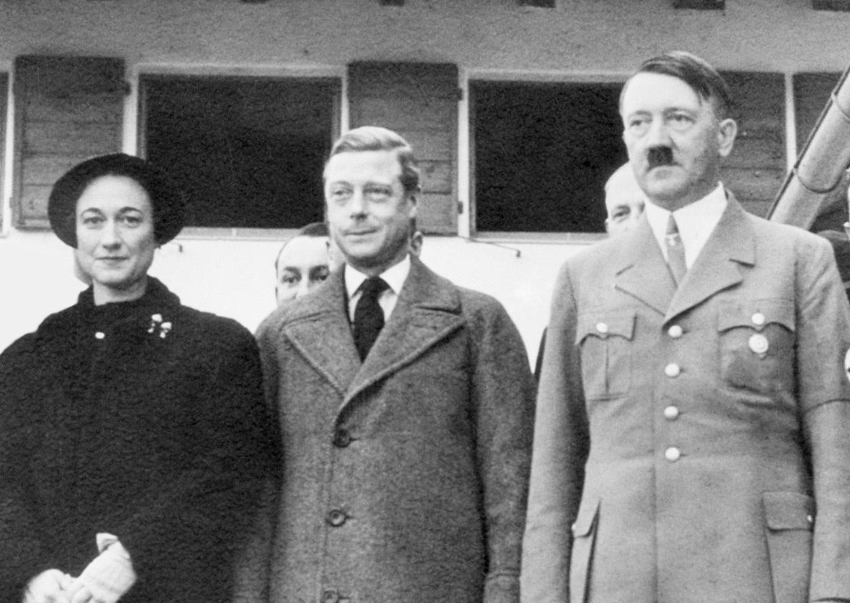 Чета Виндзор и Адольф Гитлер.