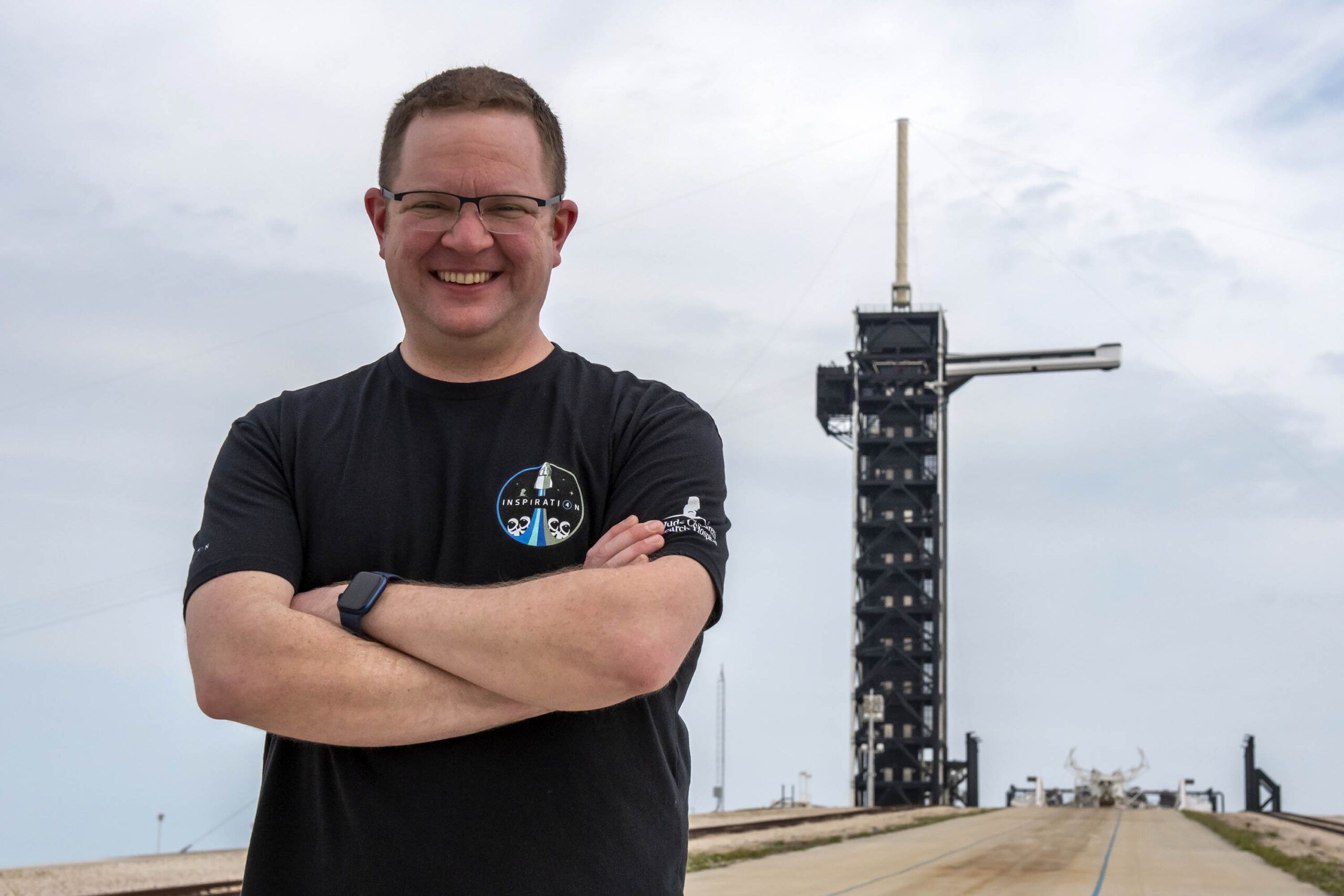 Крис Семброски. Фото — SpaceX.