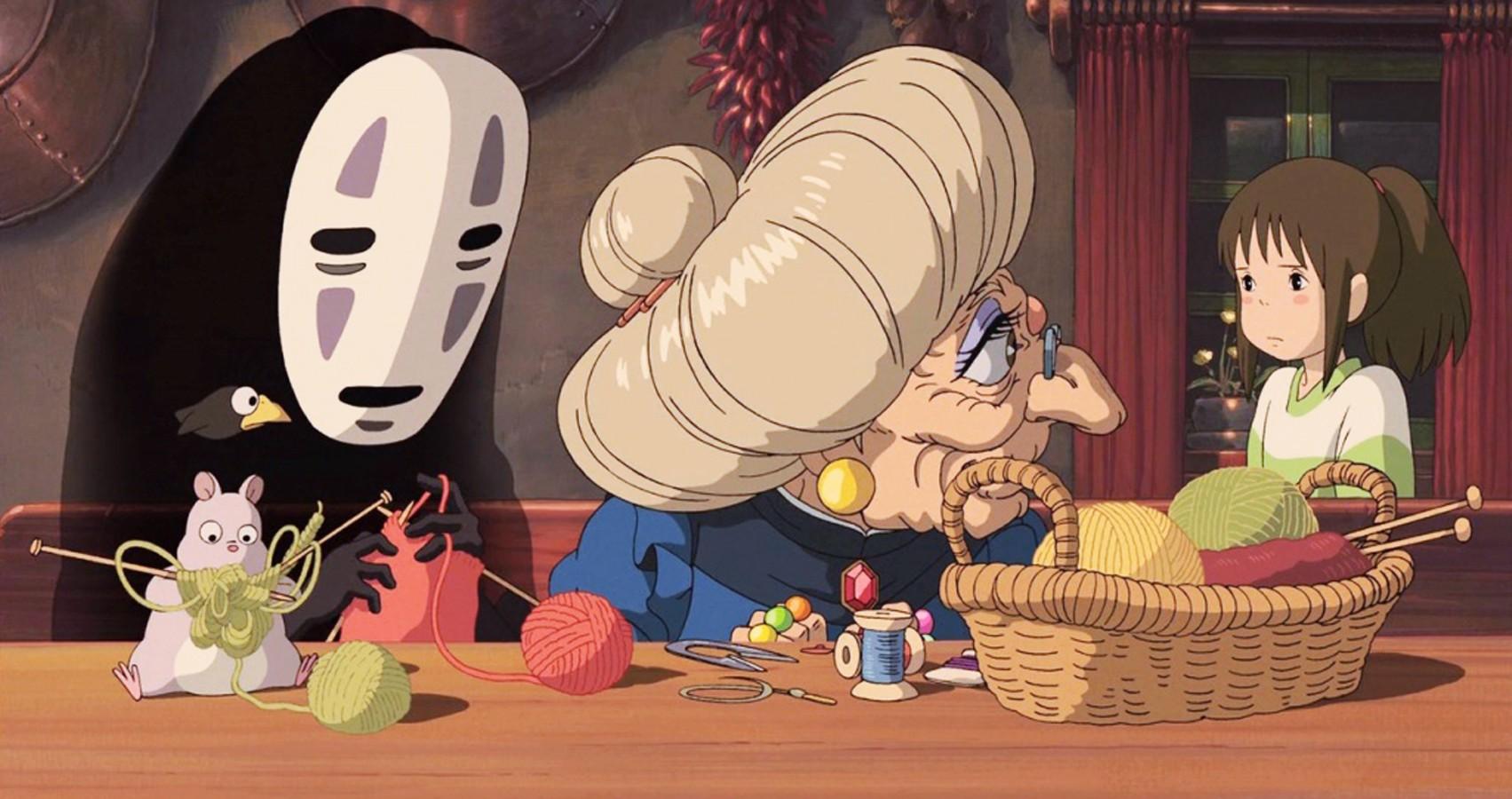 Фото — кадр из «Унесенных призраками».