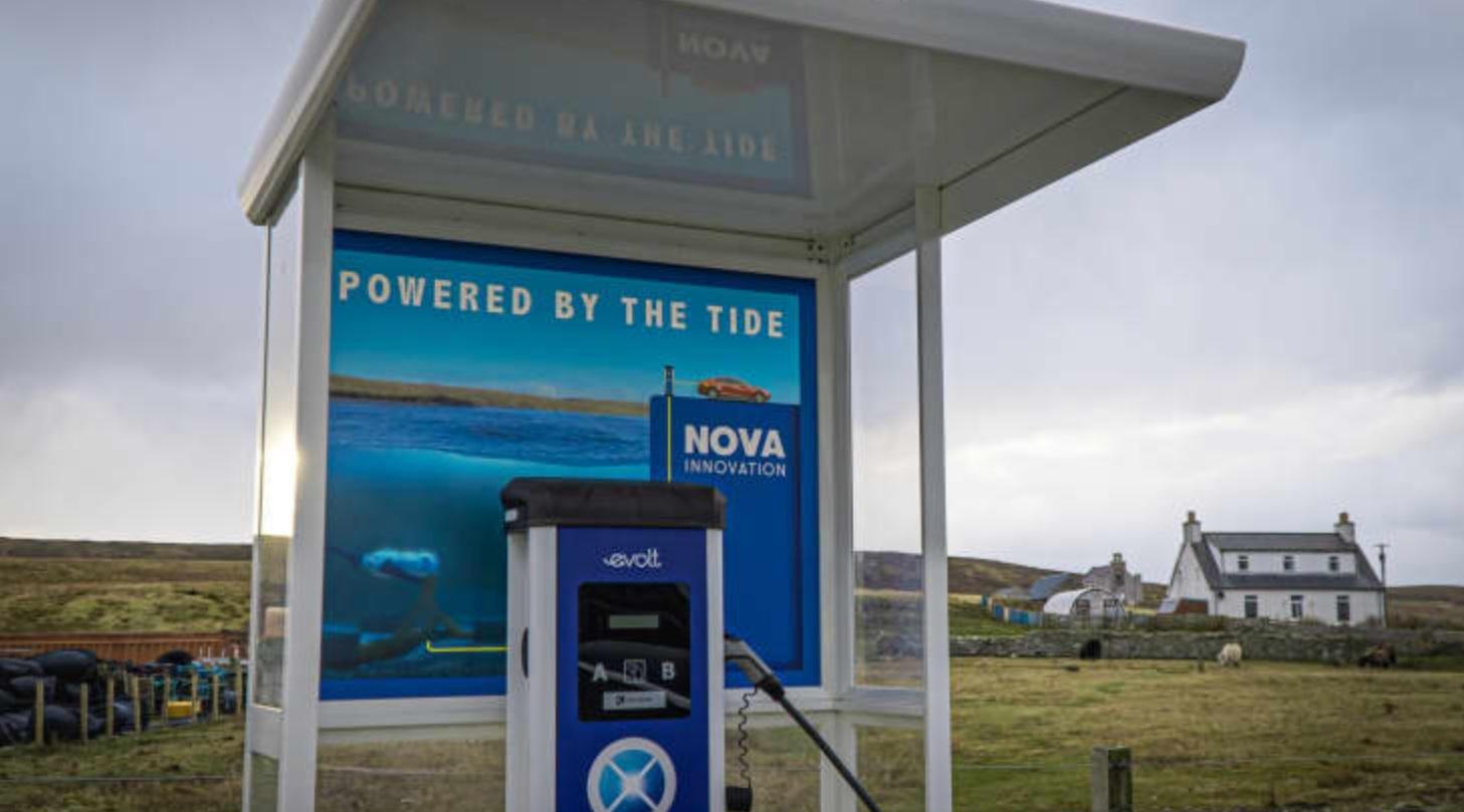 Шотландия запустила первую в мире зарядную станцию для электромобилей, использующую энергию приливов