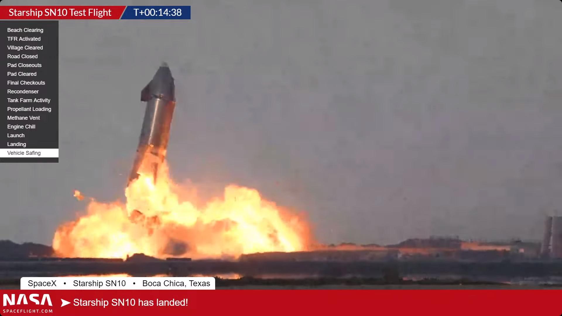 Скриншот — SpaceX.