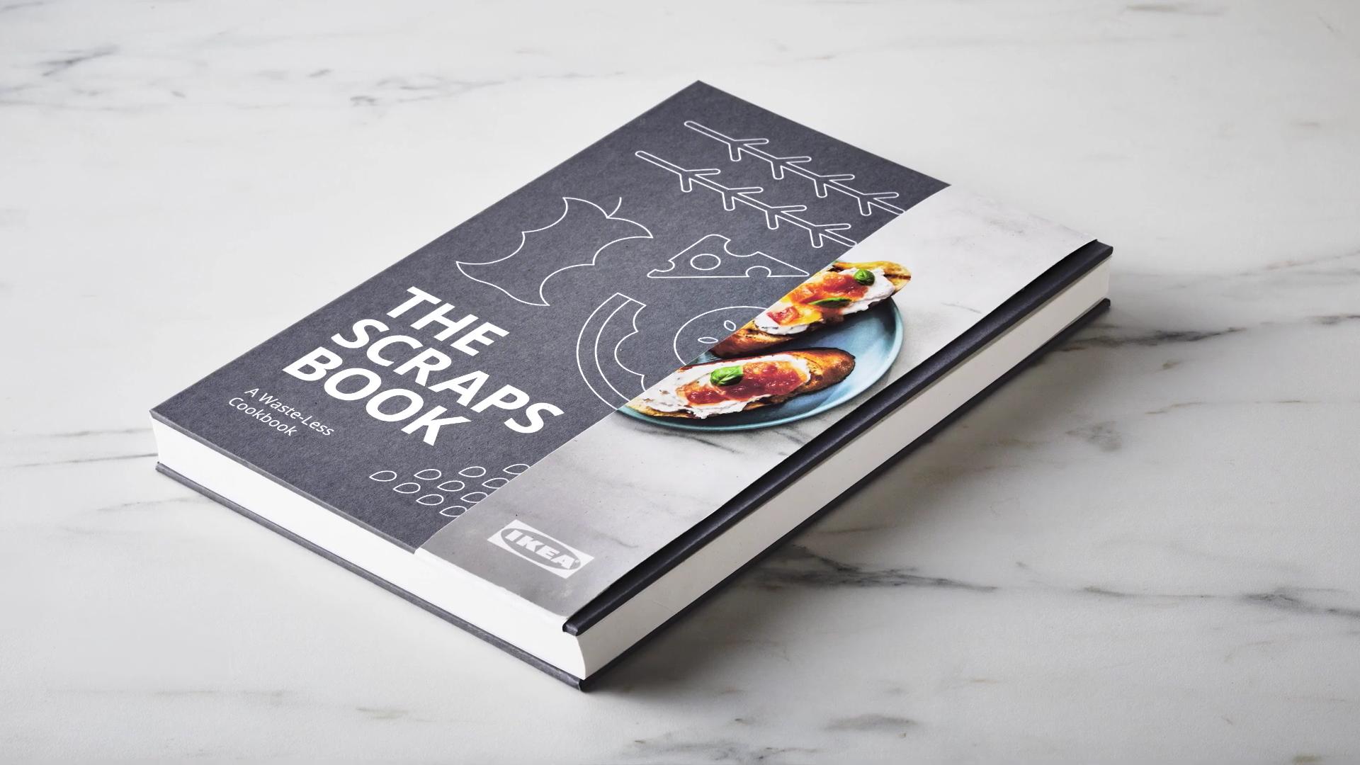 IKEA выпустила книгу рецептов из пищевых отходов