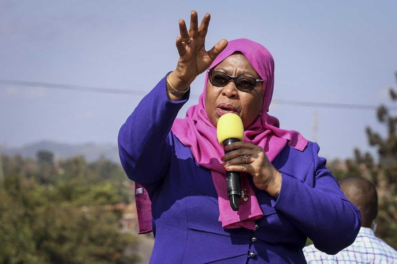 В Танзании президентом впервые стала женщина