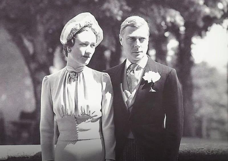 Свадьба Уоллис и Эдуарда.