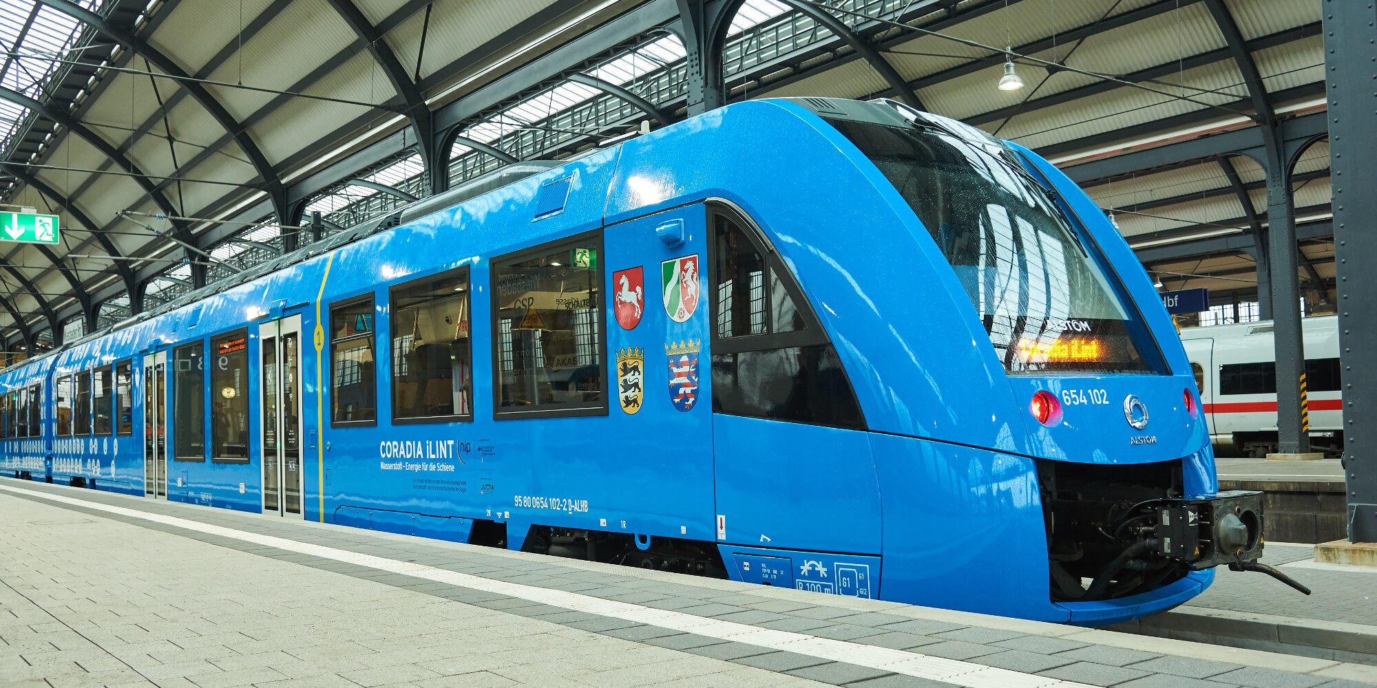 Германия тестирует новый водородный поезд