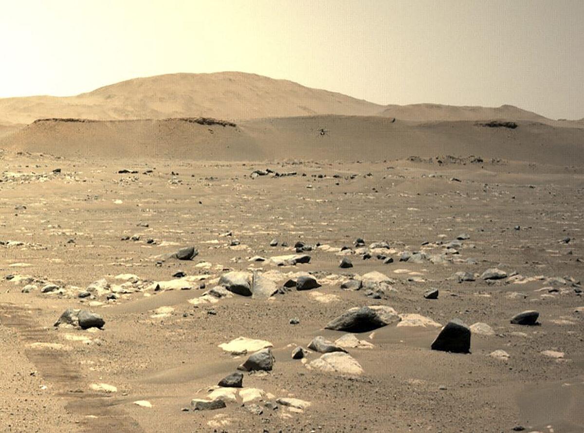 Вертолет Ingenuity совершил третий полет над поверхностью Марса