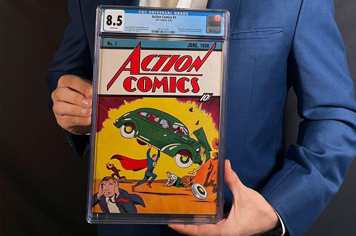 Первый комикс про Супермена продан за рекордную сумму — $3,25 миллиона