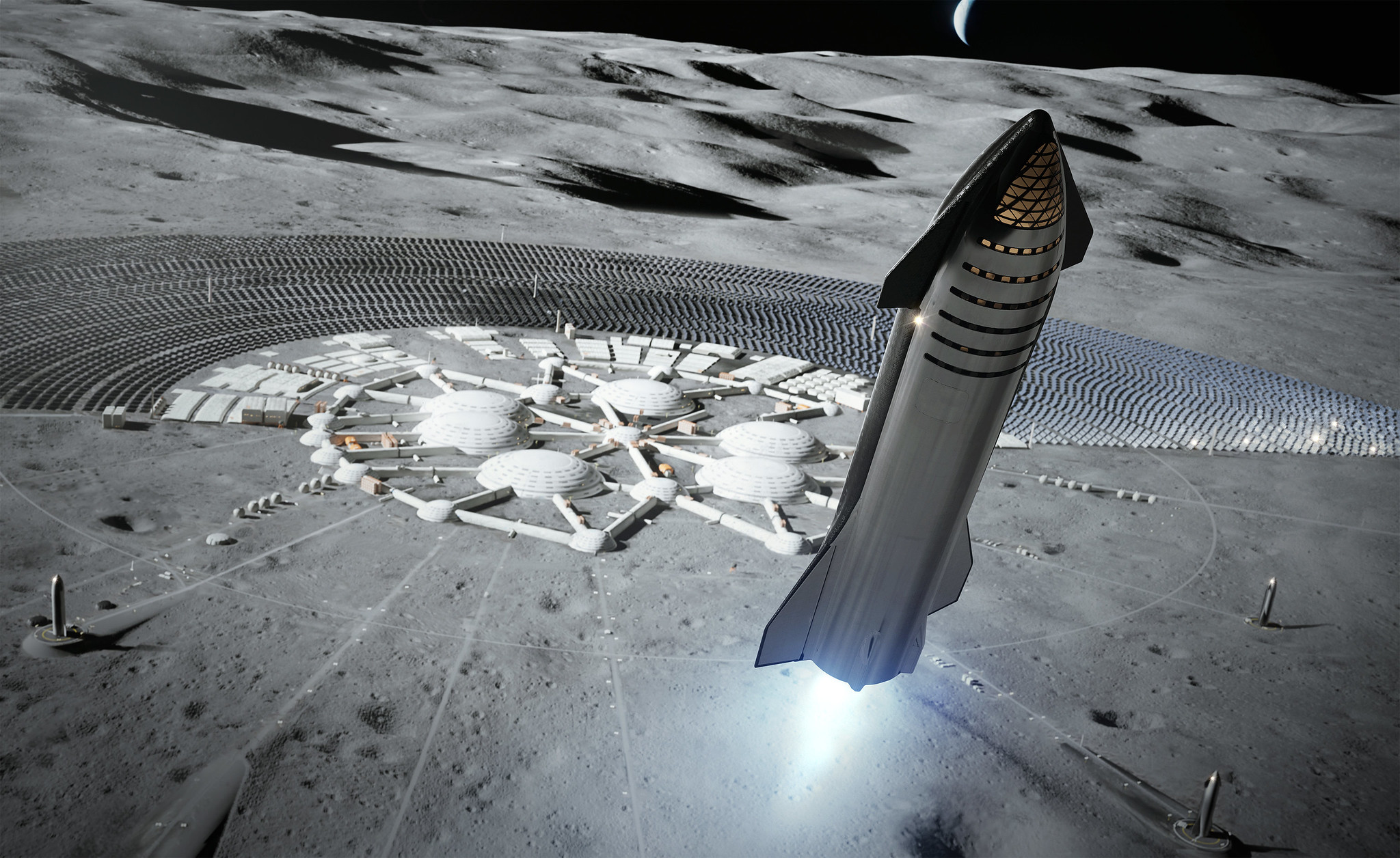 NASA выбрали компанию Илона Маска для строительства космического корабля, который доставит людей на Луну