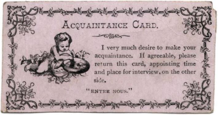 Я мечтаю познакомиться с Вами. Если Вы согласны, пожалуйста, верните эту карточку, указав на обороте место и время встречи.