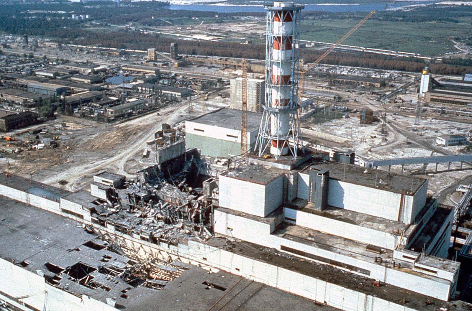 СБУ обнародовала секретные материалы о Чернобыльской АЭС