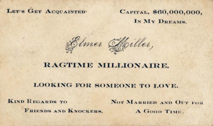 Миллионер ищет кого-то для любви.