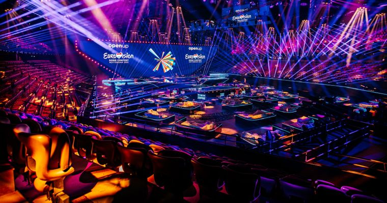 Концертный зал «Ахой» в Роттердаме, здесь пройдет «Евровидение-2021». Фото — Eurovision.