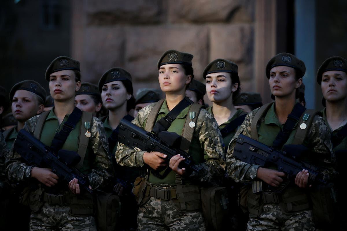 Женщина-военнослужащий впервые прошла отбор в украинский спецназ