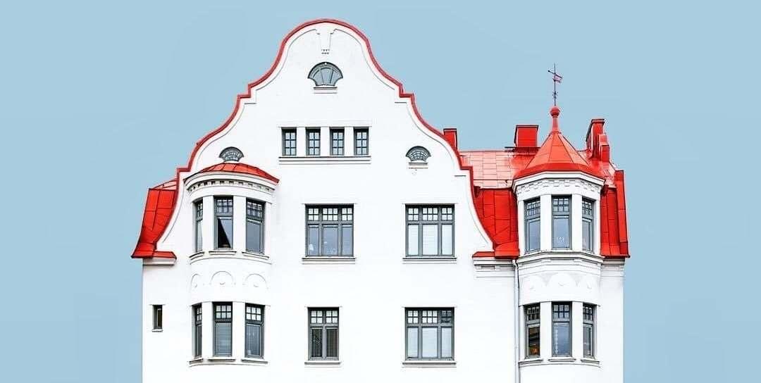 Instagram дня. Снимки минималистичных фасадов от шведского фотографа