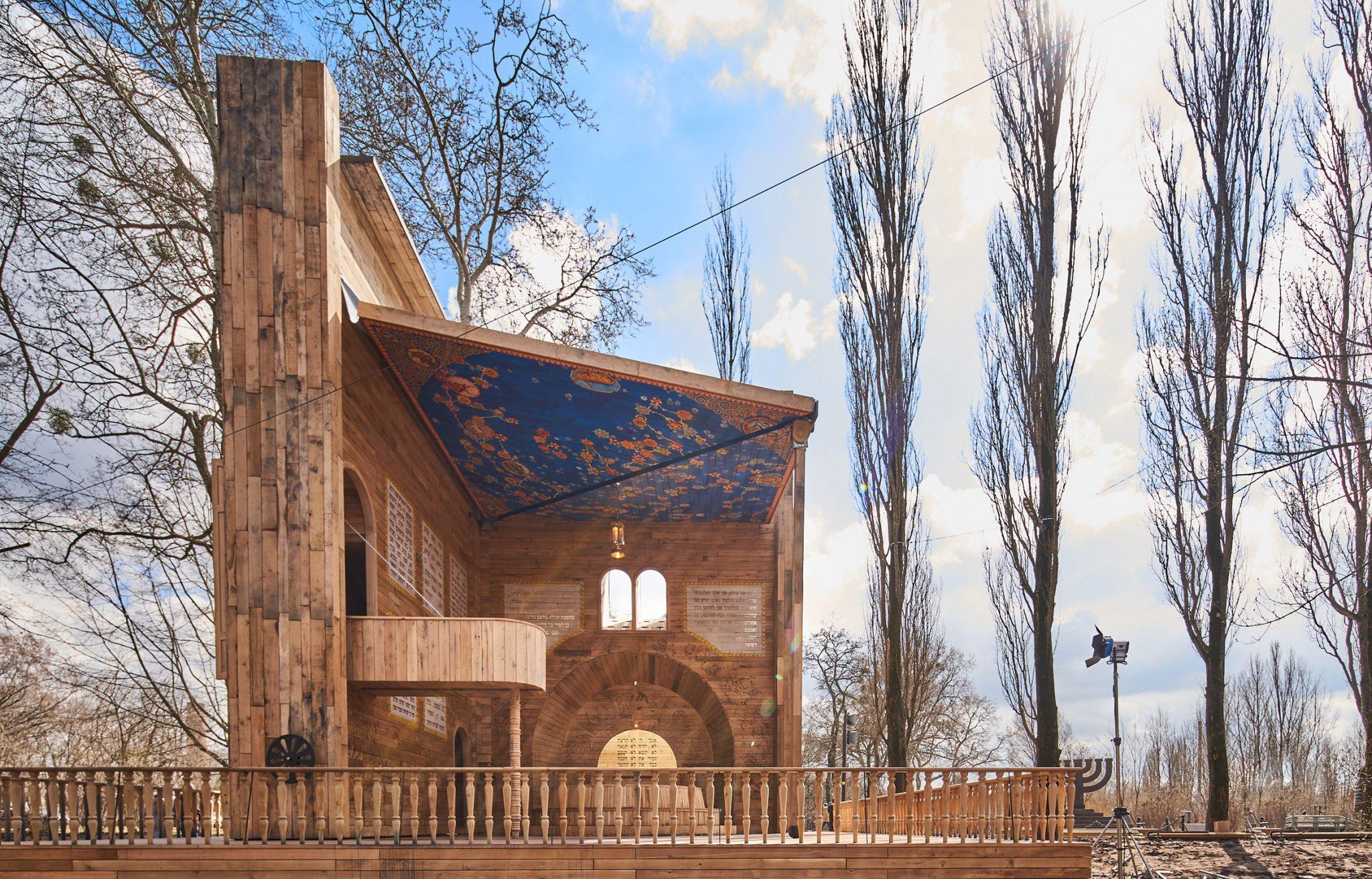 Швейцарские архитекторы построили в Бабьем Яру синагогу в виде открытой книги