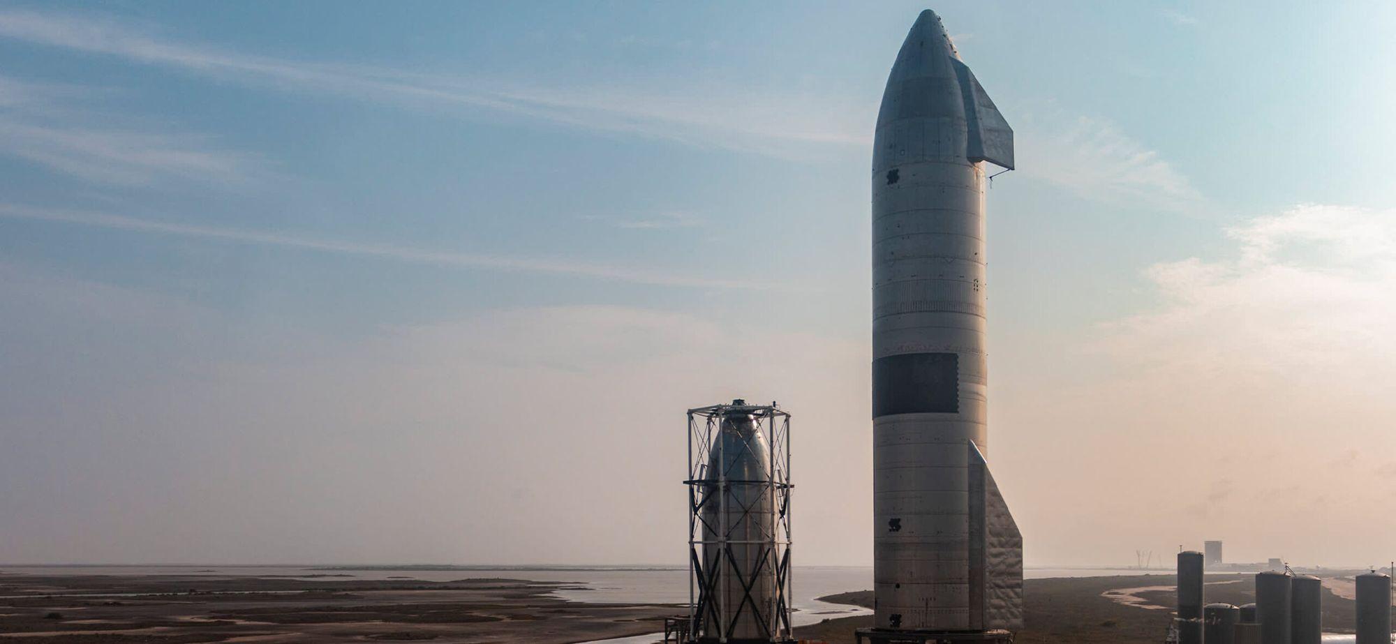SpaceХ впервые успешно запустила межпланетную ракету Starship