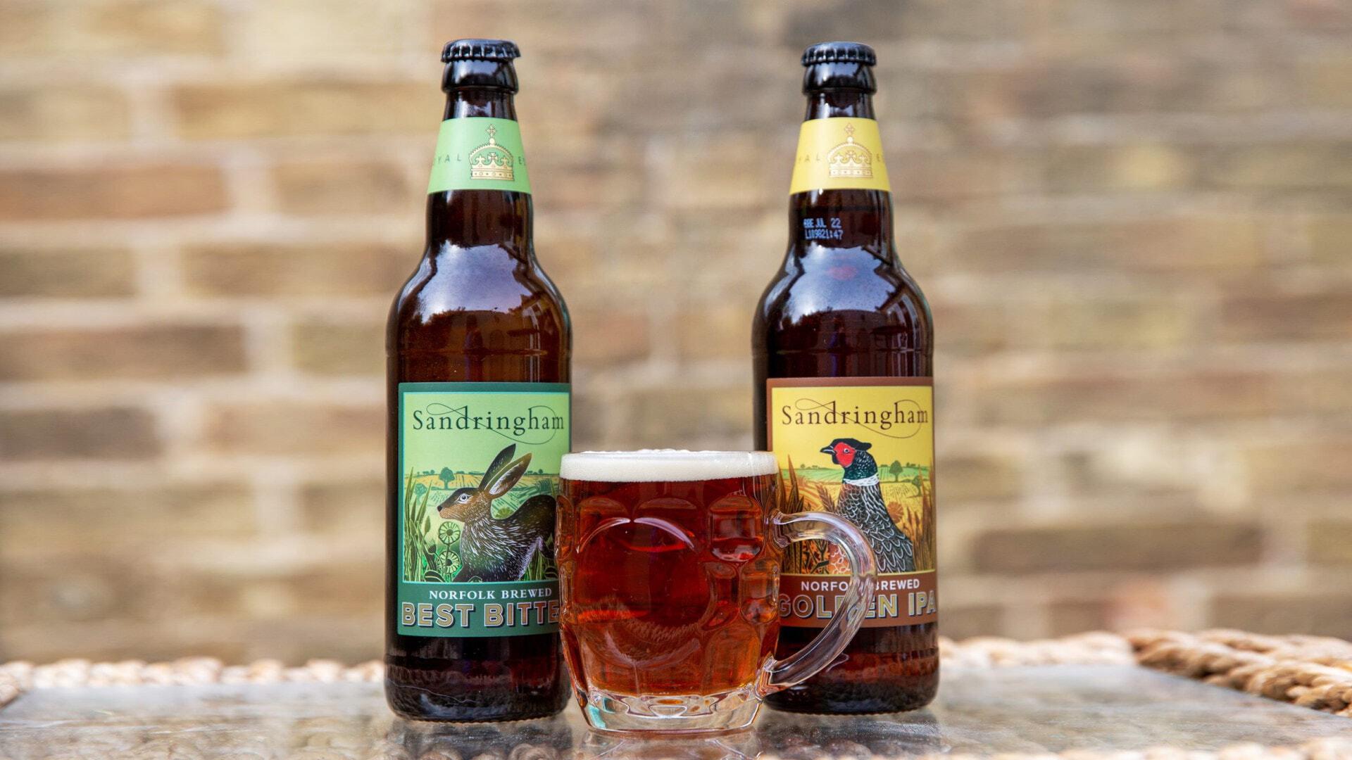 Дворец Королевы Великобритании Елизаветы II начал производить пиво