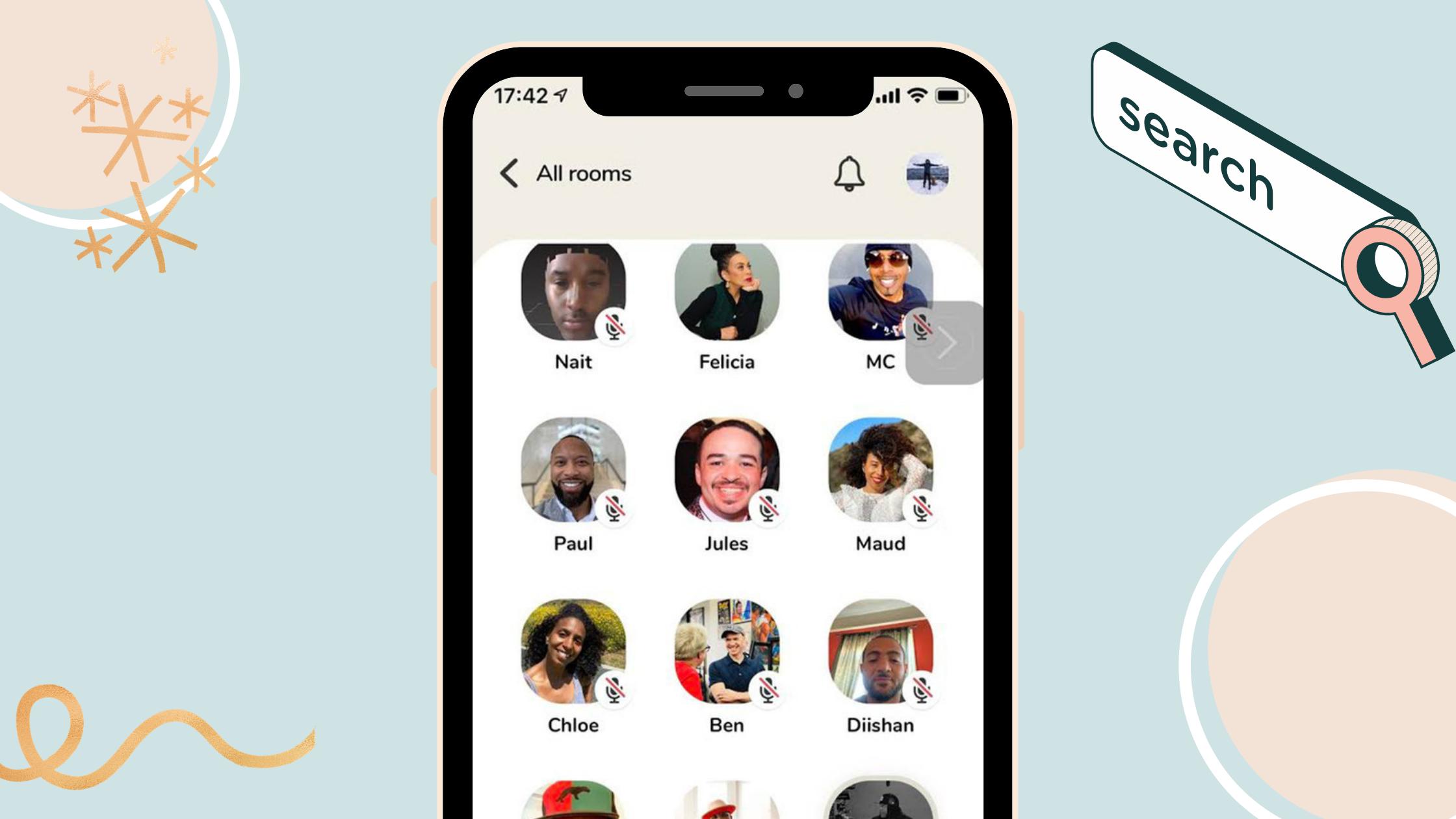 Clubhouse официально вышел на Android. После года эксклюзива для IOS