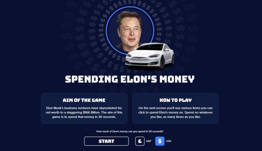 Изображение — Spending Elon's Money.