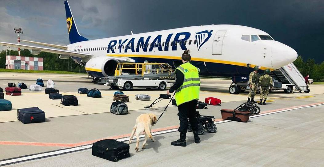 Из-за ХАМАС. Минтранс Беларуси назвал новую версию посадки самолета Ryanair