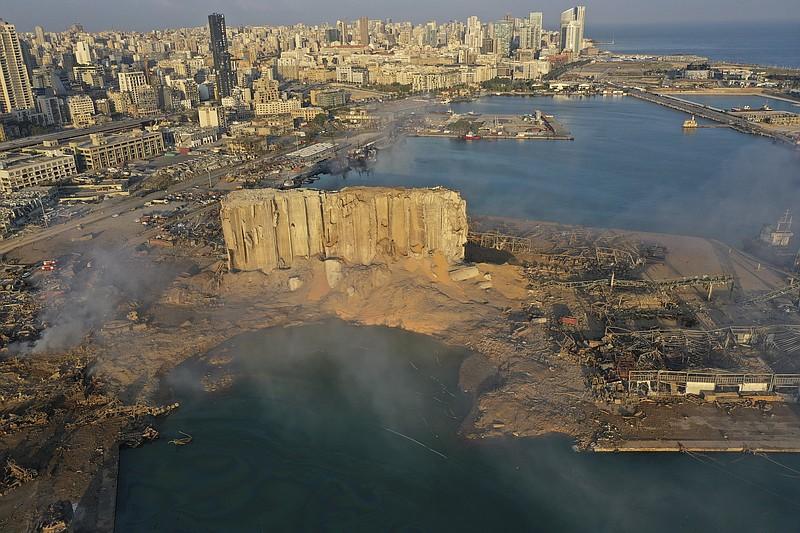 Власти Бейрута объявили конкурс на восстановление старой части города, разрушенной взрывом в порту