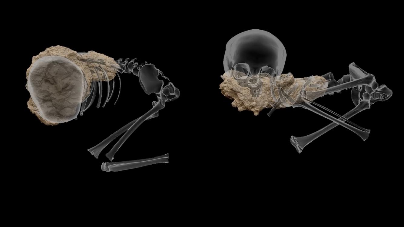 Ученые обнаружили самое древнее человеческое захоронение в Африке, а в нем — ребенка