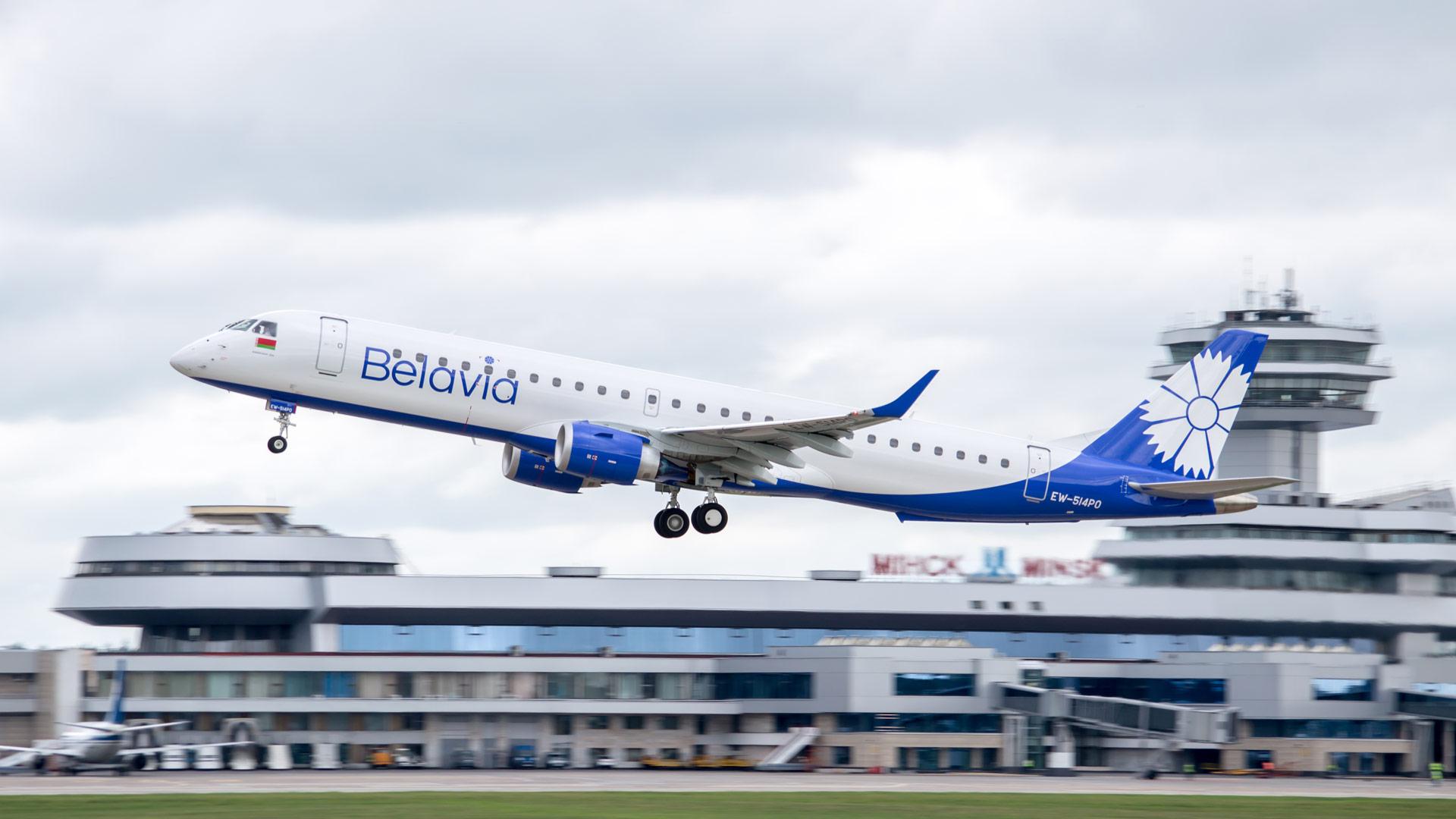 «Белавиа» отменила все авиарейсы в Украину до 31 августа