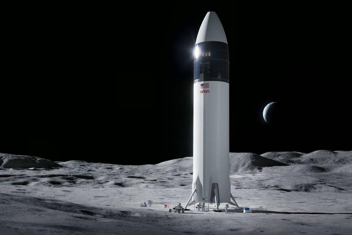 NASA приостановило контракт со SpaceX по доставке людей на Луну. Все из-за жалоб Безоса