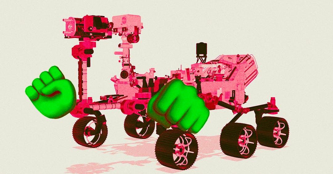 Perseverance VS Tianwen-1: кто победил бы в схватке роботов на Марсе. Исследование