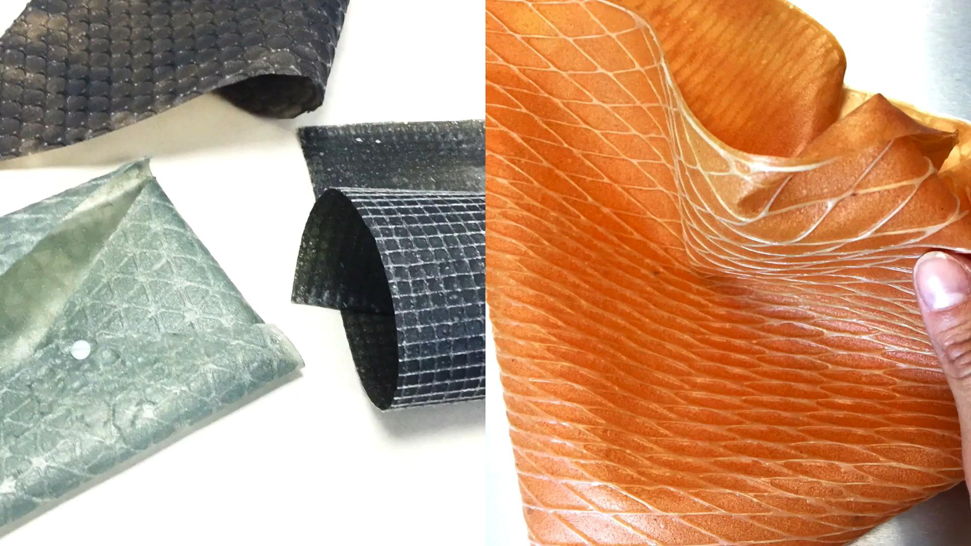 Американские ученые создали искусственную кожу из шелка